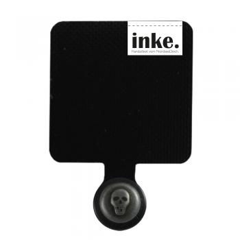 TOTENKOPF SCHWARZ- Handy-Anker - unsere Alternative zur Handykette